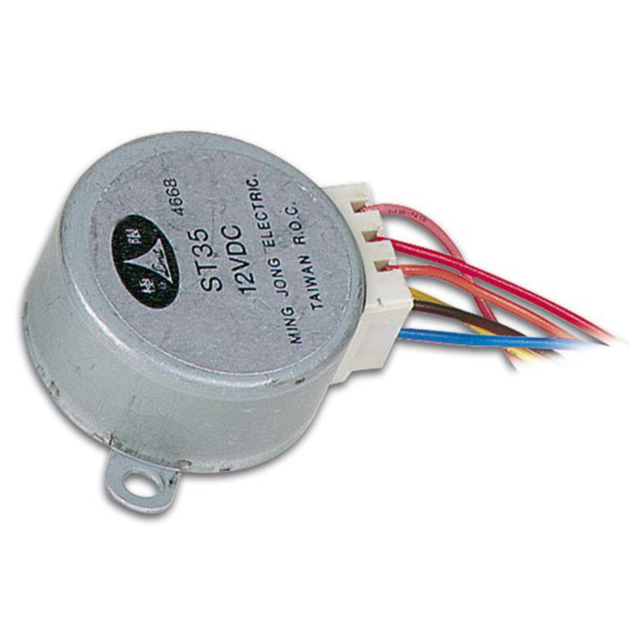 Schrittmotor 12 V DC 60 mA (Winkel 7-5- - 48 Schritte)