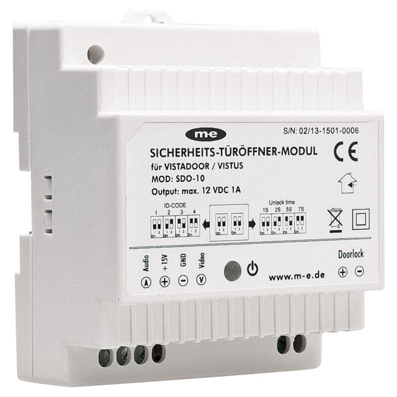 Sicherheits-Türöffnermodul SDO-10 für Vistus- und Vistadoor-Systeme