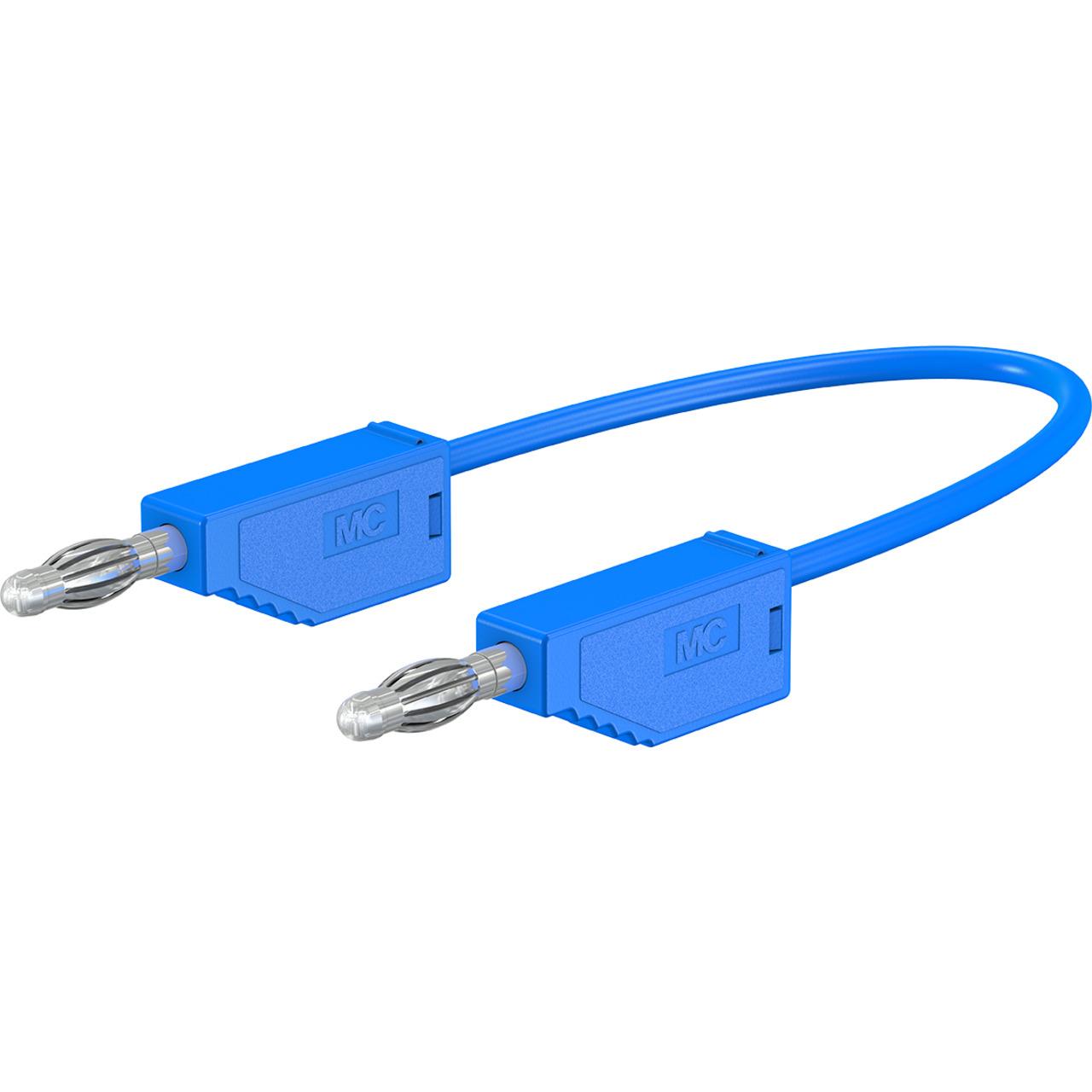 Silikon-Verbindungsleitungen LK425-A-SIL 4 mm- 30A- 1m- blau