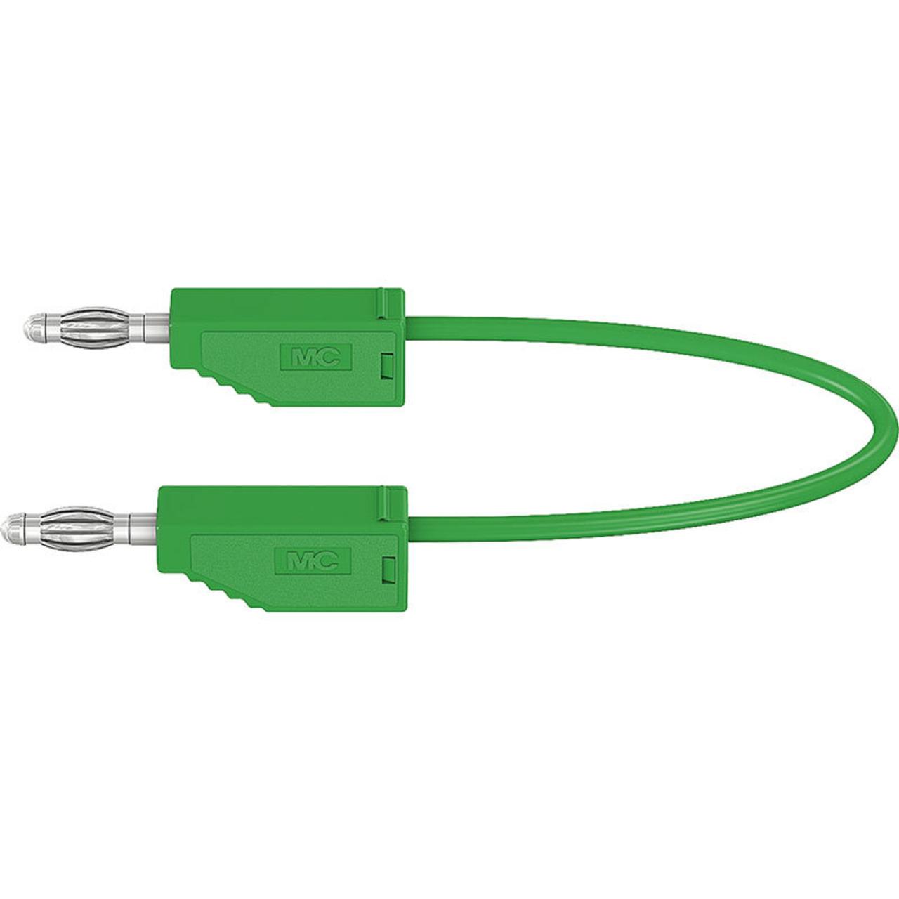 Silikon-Verbindungsleitungen LK425-A-SIL 4 mm- 30A- 2m- grün