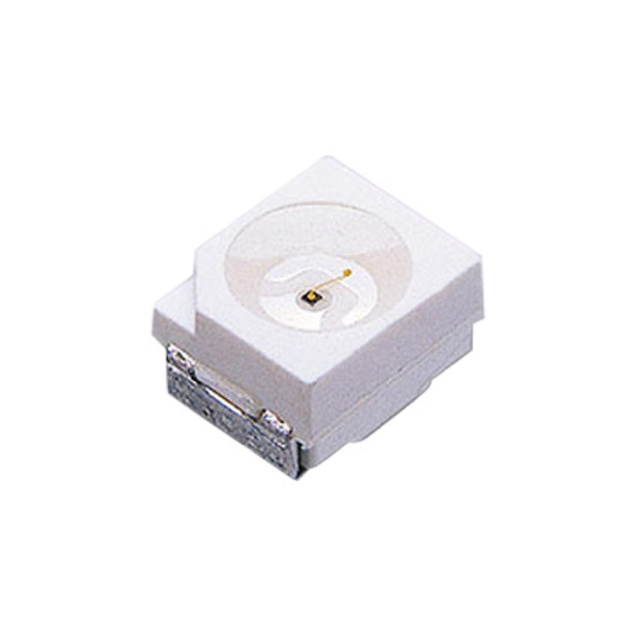 SMD-LED Grün Superhell- Bauform TOP (PLCC)- 10er Pack