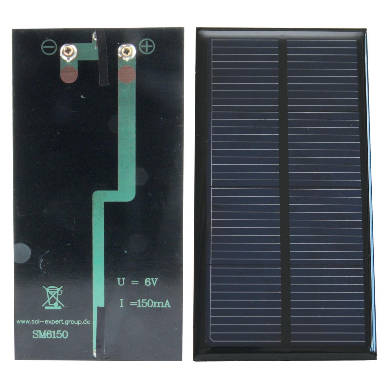 SOL-Expert Solarzelle SM6150- vergossen