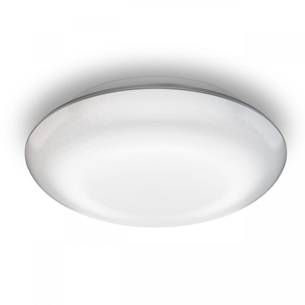 Steinel 10-W-Sensor-LED-Deckenleuchte mit 4 einstellbaren Sensoren- Nachtlichtfunktion