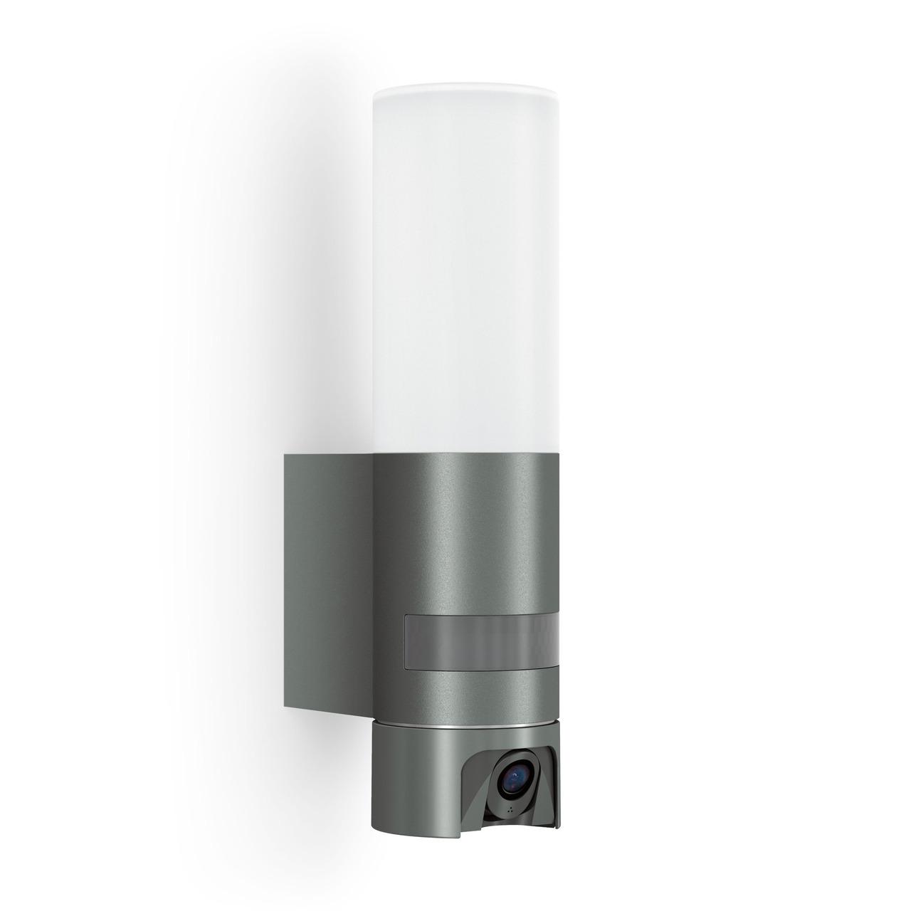 Steinel 13-5-W-LED-Wand-Kameraleuchte L 620 CAM- Full-HD Kamera (1080p)- App-Zugriff