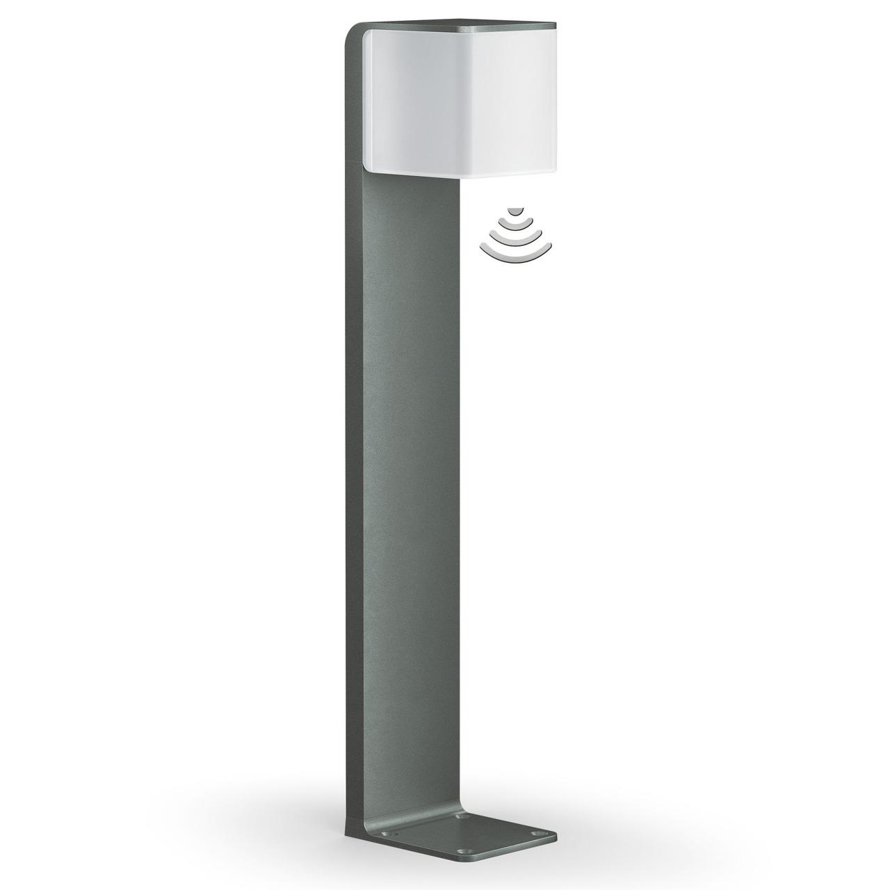 Steinel GL80 LED iHF 9-5-W-Sensor-LED-Standleuchte mit HF-Bewegungsmelder- per App einstellbar