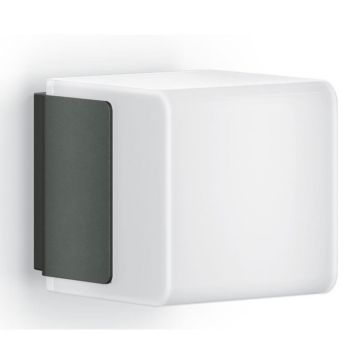 Steinel L 835 LED iHF Sensor-LED-Wandleuchte mit HF-Bewegungsmelder- per App einstellbar- anthrazit