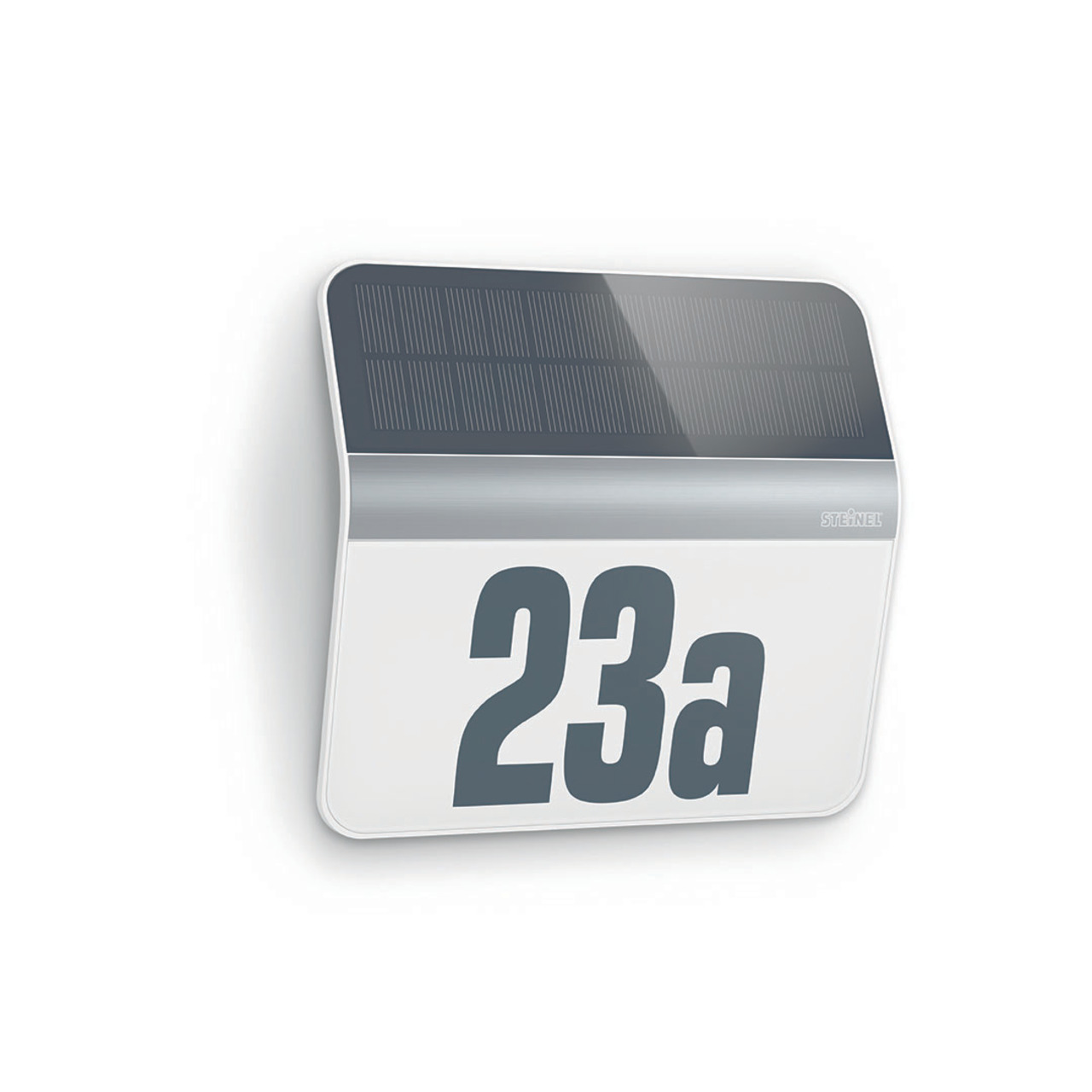 Steinel XSolar LH-N Solar-LED-Hausnummernleuchte- edelstahlfarben