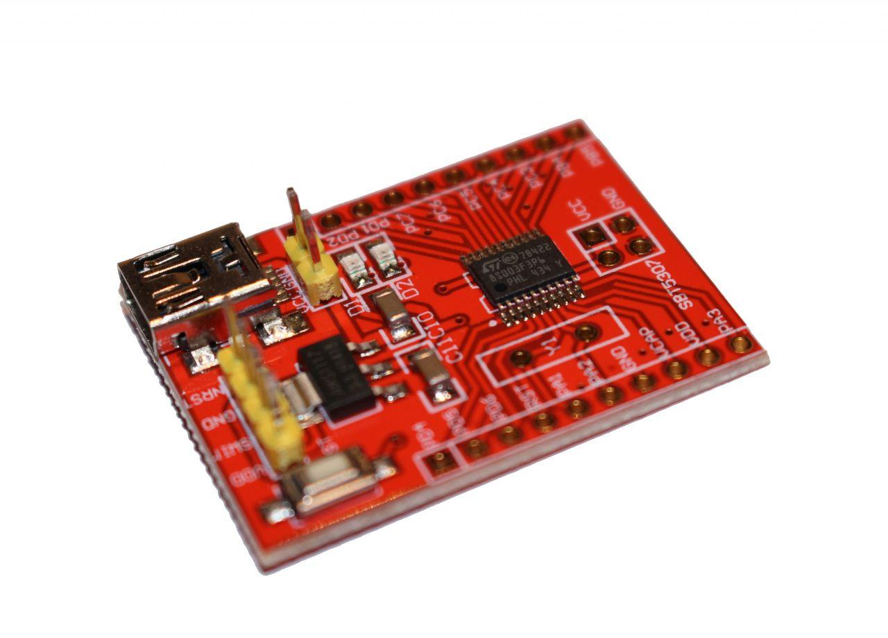 STM8S003 STM Mini Developmentboard