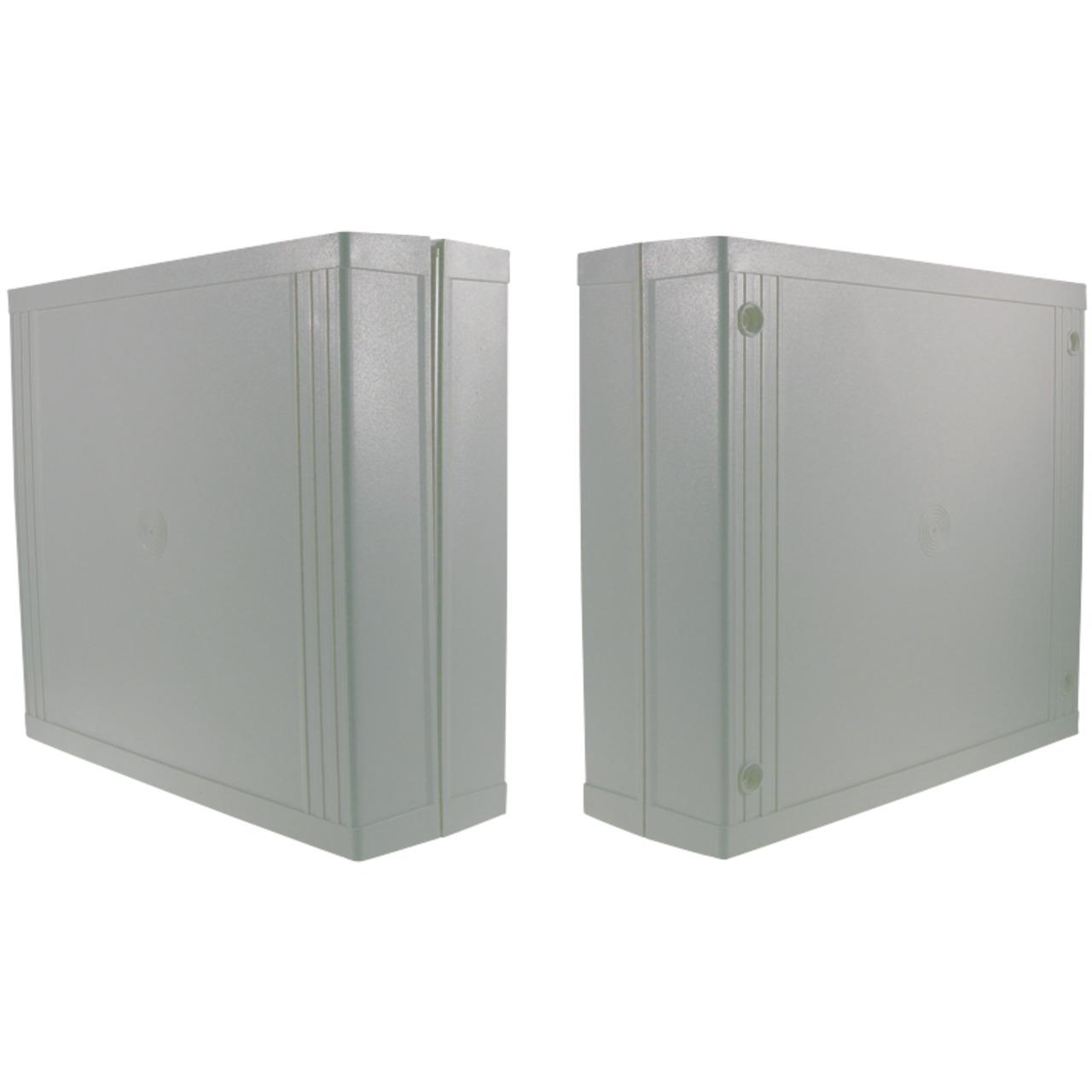 Strapubox Kunststoff-Gehäuse 7090 ABS 224 x 199 x 73 mm- grau