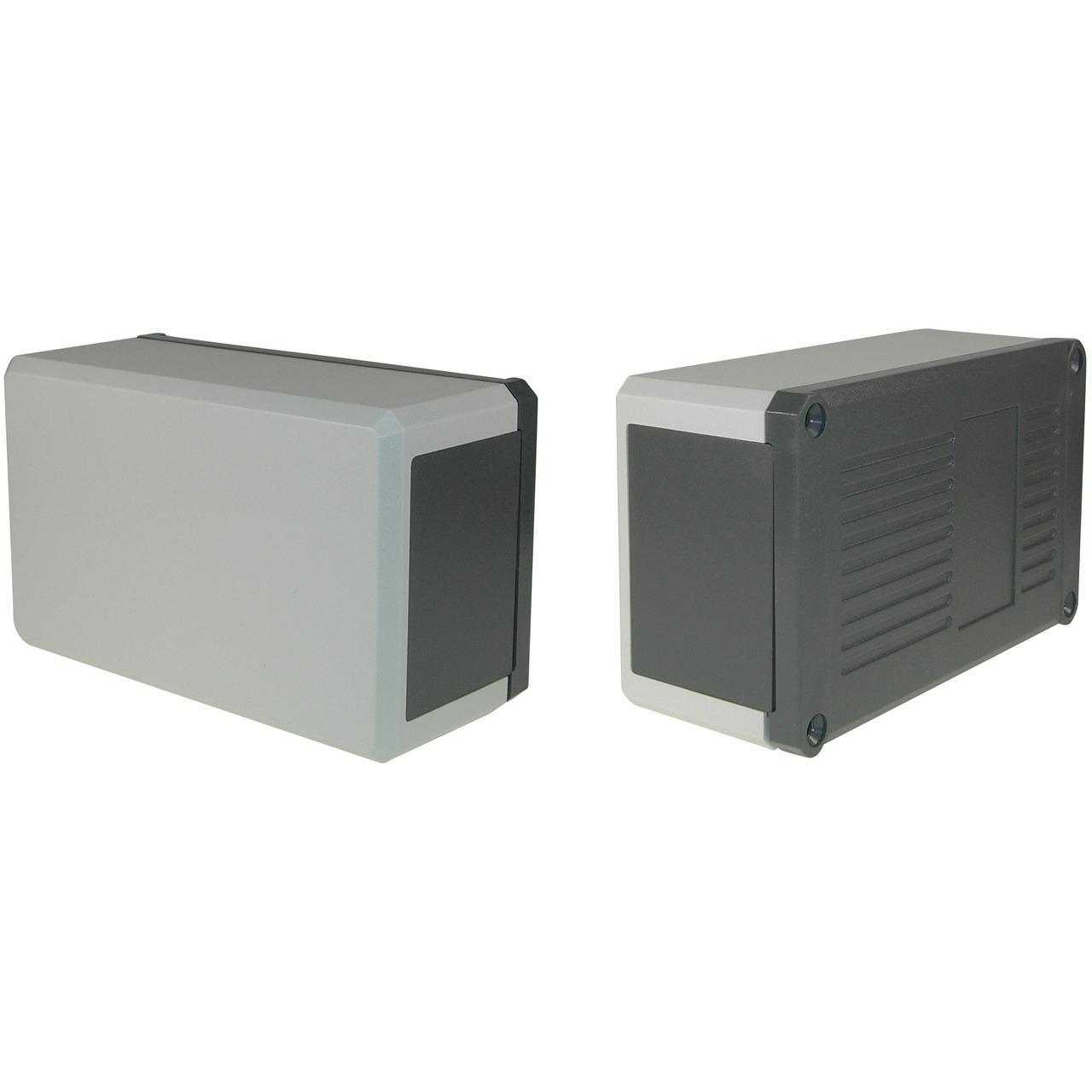 Strapubox Kunststoff-Gehäuse KG 200 ABS 138 x 84 x 58 mm- grau