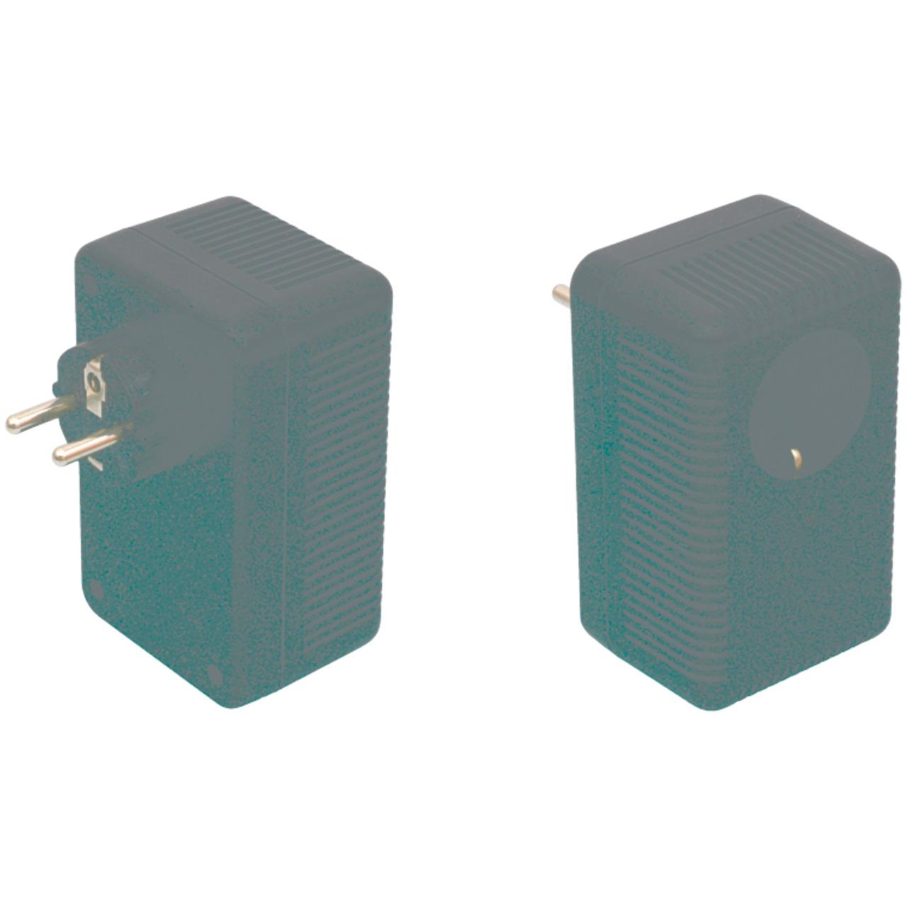 Strapubox Stecker-Gehäuse SG 322B ABS 112 x 68 x 73 mm- schwarz