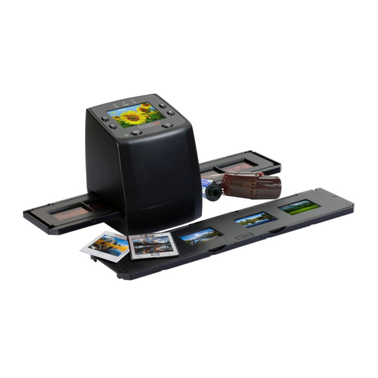 Technaxx Dia-Negativscanner DigiScan DS-02- Scan auf SD-SDHC-Karten