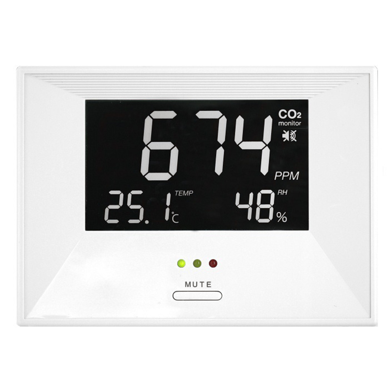 TFA CO2-Messgerund-228 t undquot Air CO2ntrol Lifeundquot  mit Thermo-Hygrometer
