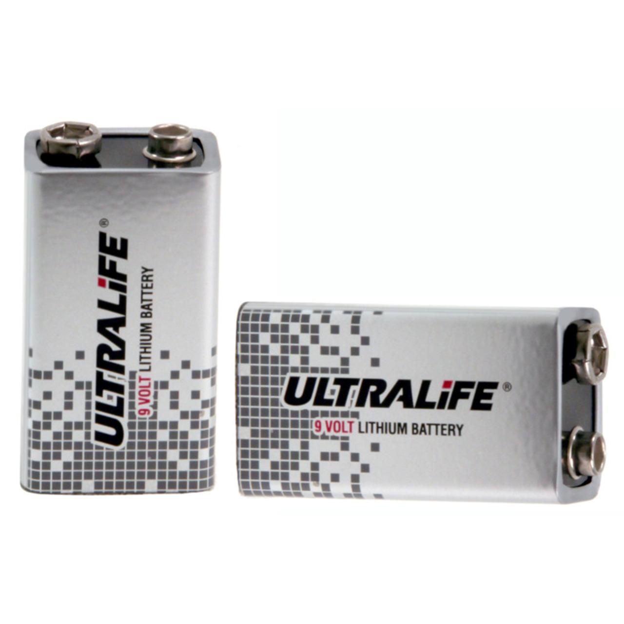 ULTRALIFE Lithium 9-V-Block-Batterie 1-2 Ah