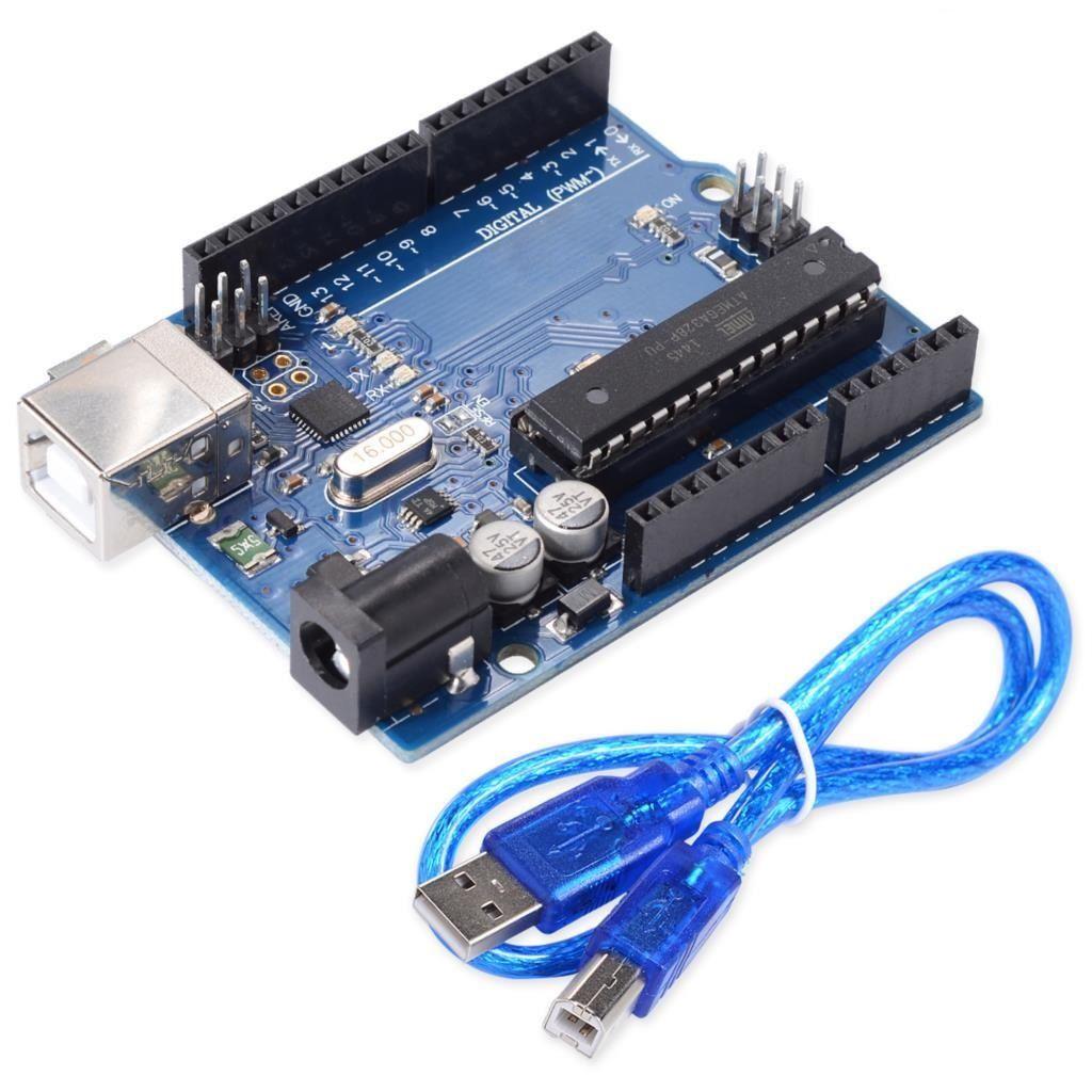 UNO R3 MEGA328P ATMEGA16U2 Board Arduino kompatibel
