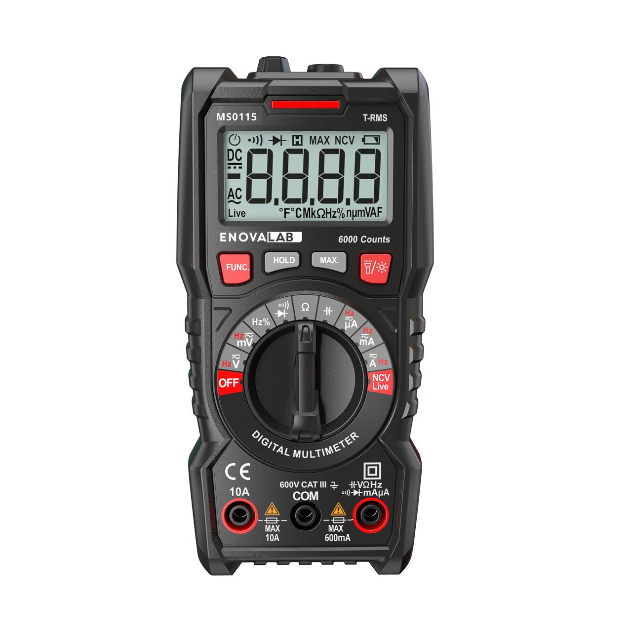 VA-LABs TrueRMS Digital-Multimeter- 6-000 Counts