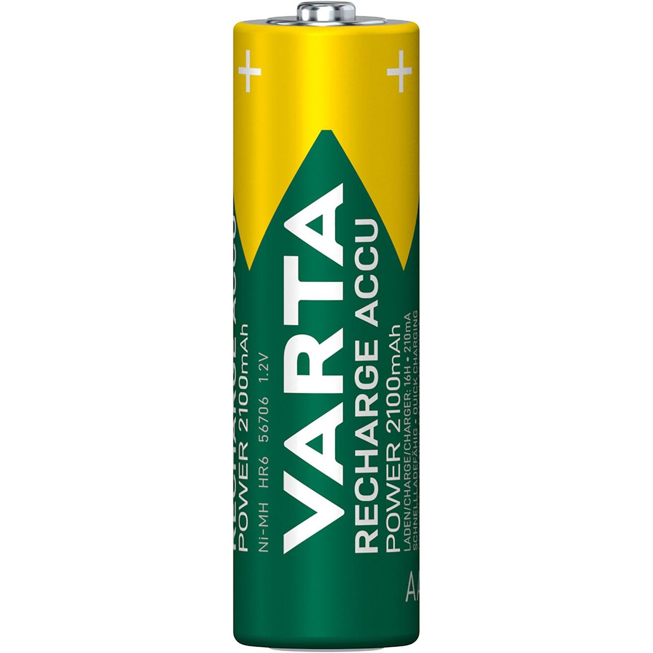 VARTA RECH-ACCU Power AA 2100mAh Blister 4