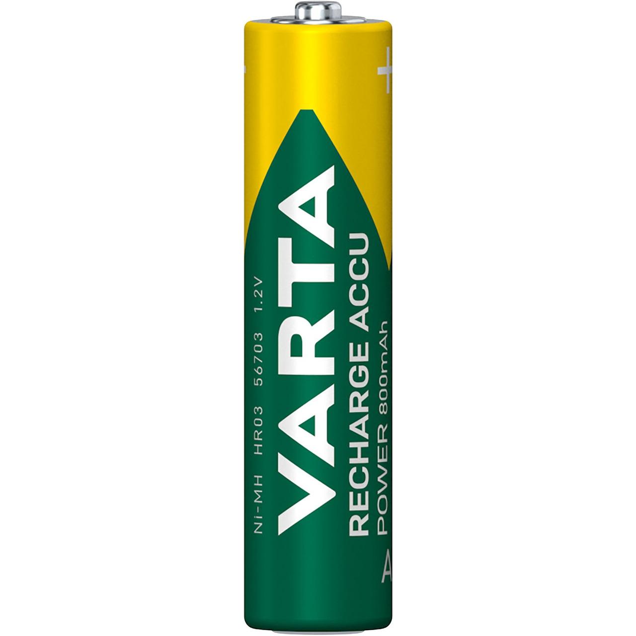 VARTA RECH-ACCU Power AAA 800mAh Blister 4