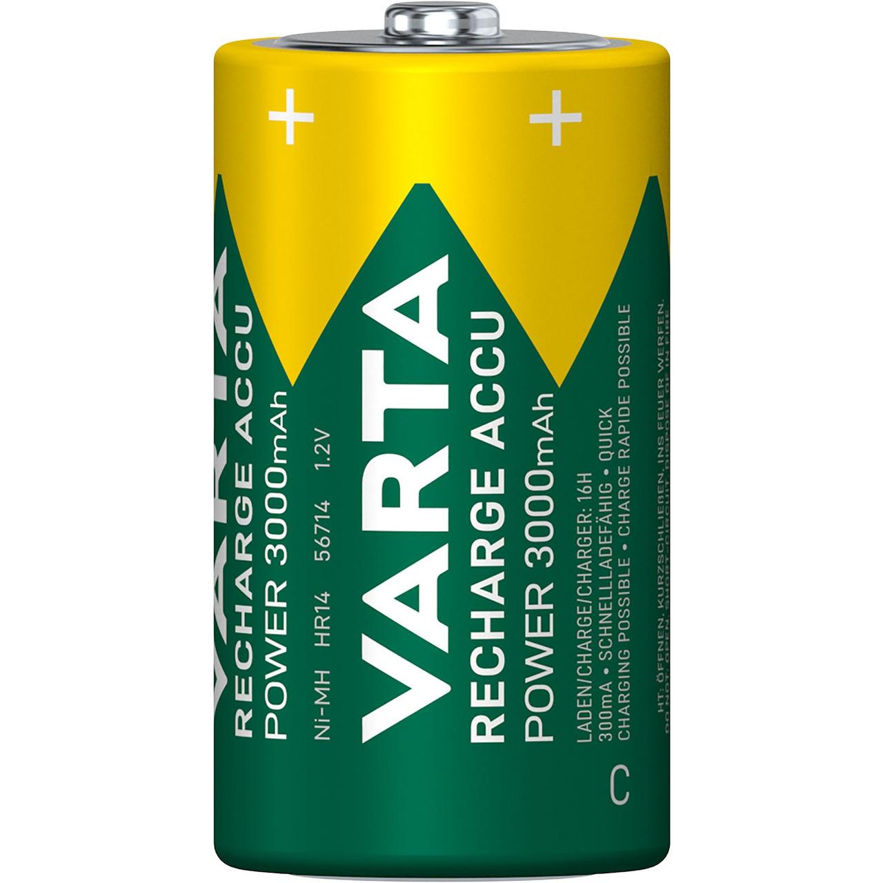 VARTA RECH-ACCU Power C 3000mAh Blister 2