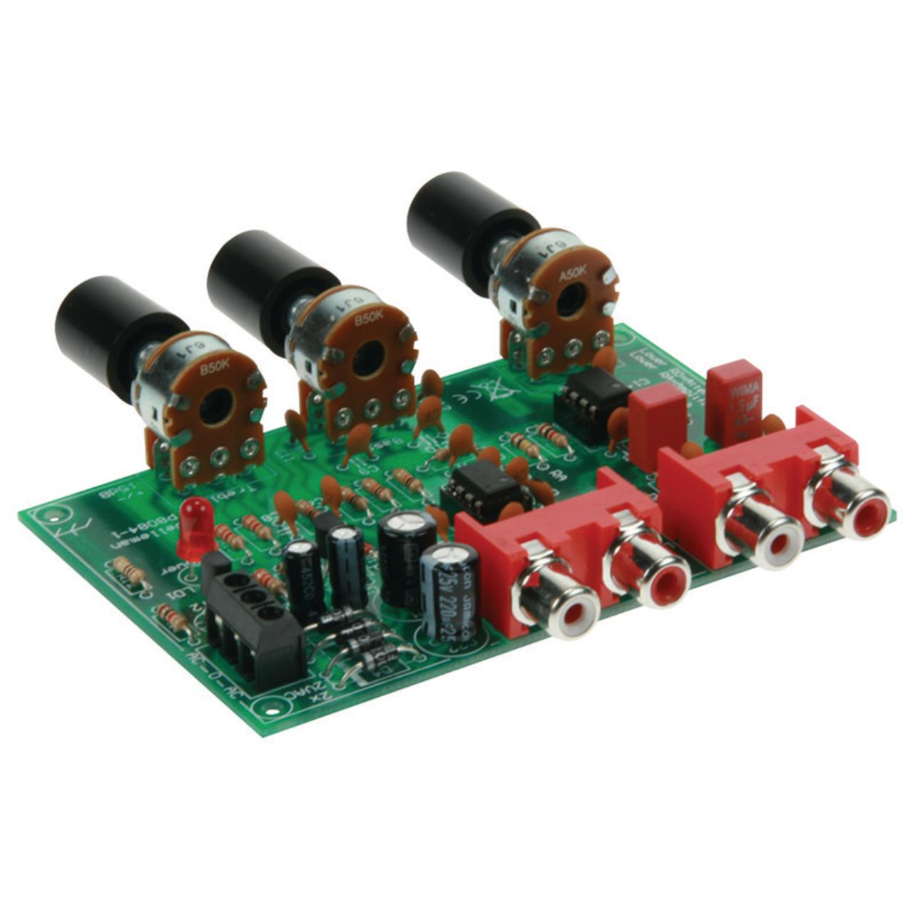 Velleman Bausatz K8084 Vorverstärker Lautstärke- und Klangregelung