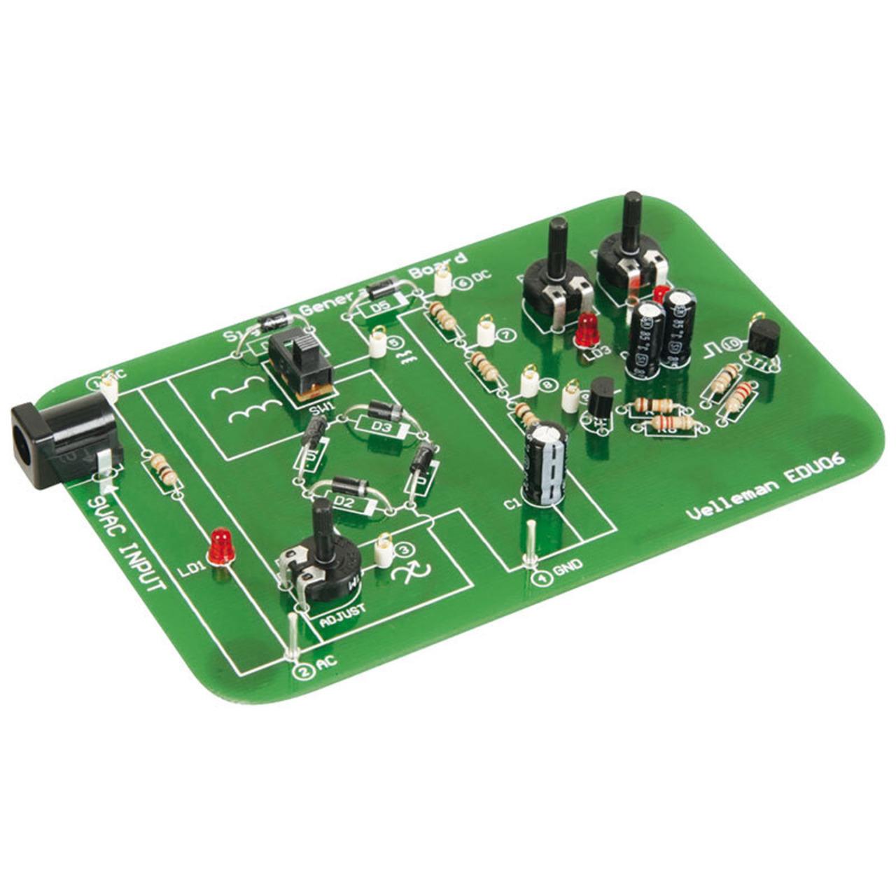 Velleman Bausatz Oszilloskop-Lernpaket EDU06