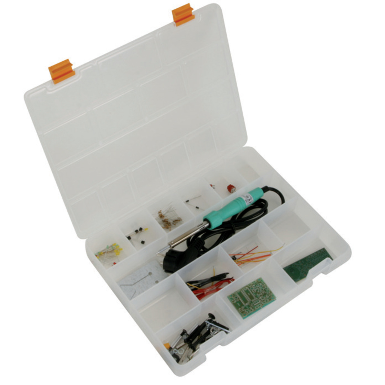 Velleman EDU03 Löt-Lernpaket- 30 W- 230 V- inkl- 2 Bausätzen