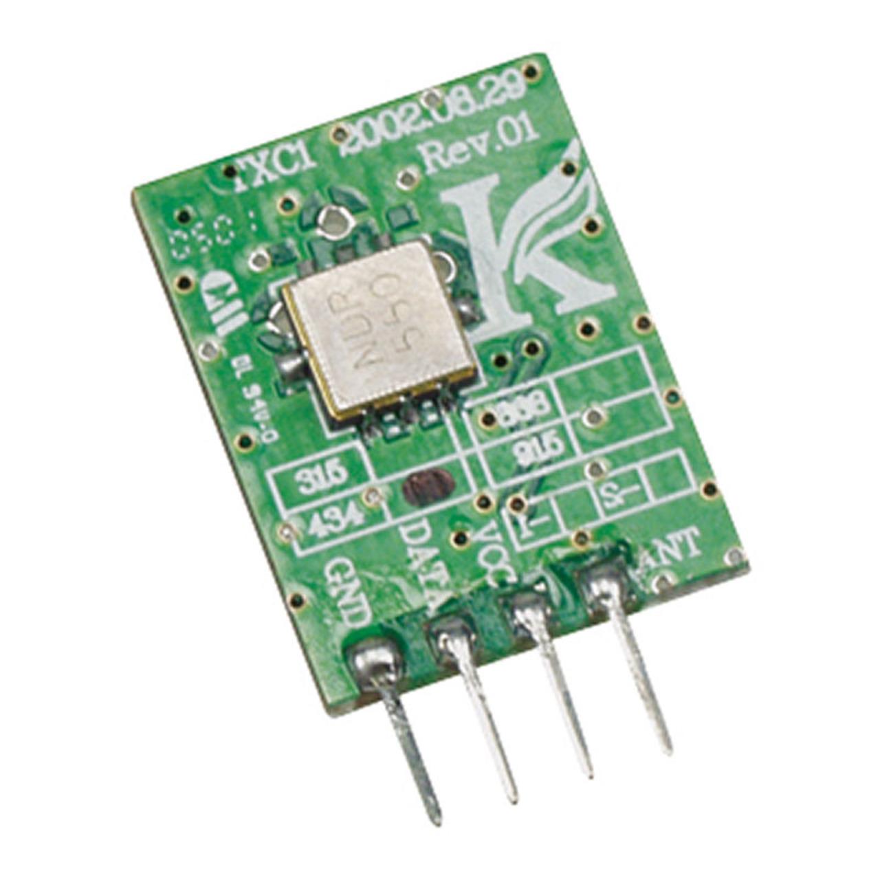 Velleman HF-Sendemodul TX433N1- 433-92 MHz