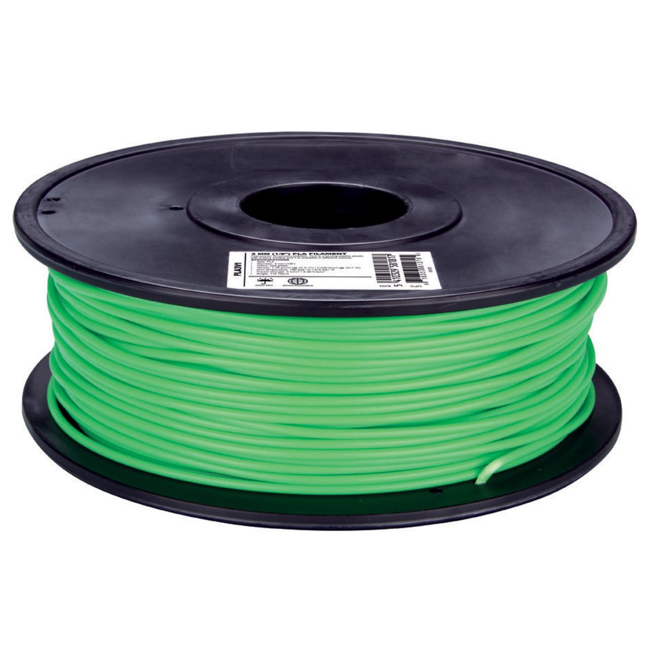 Velleman PLA Filament- hellgrün- 3 mm- 750 g- PLA3V1