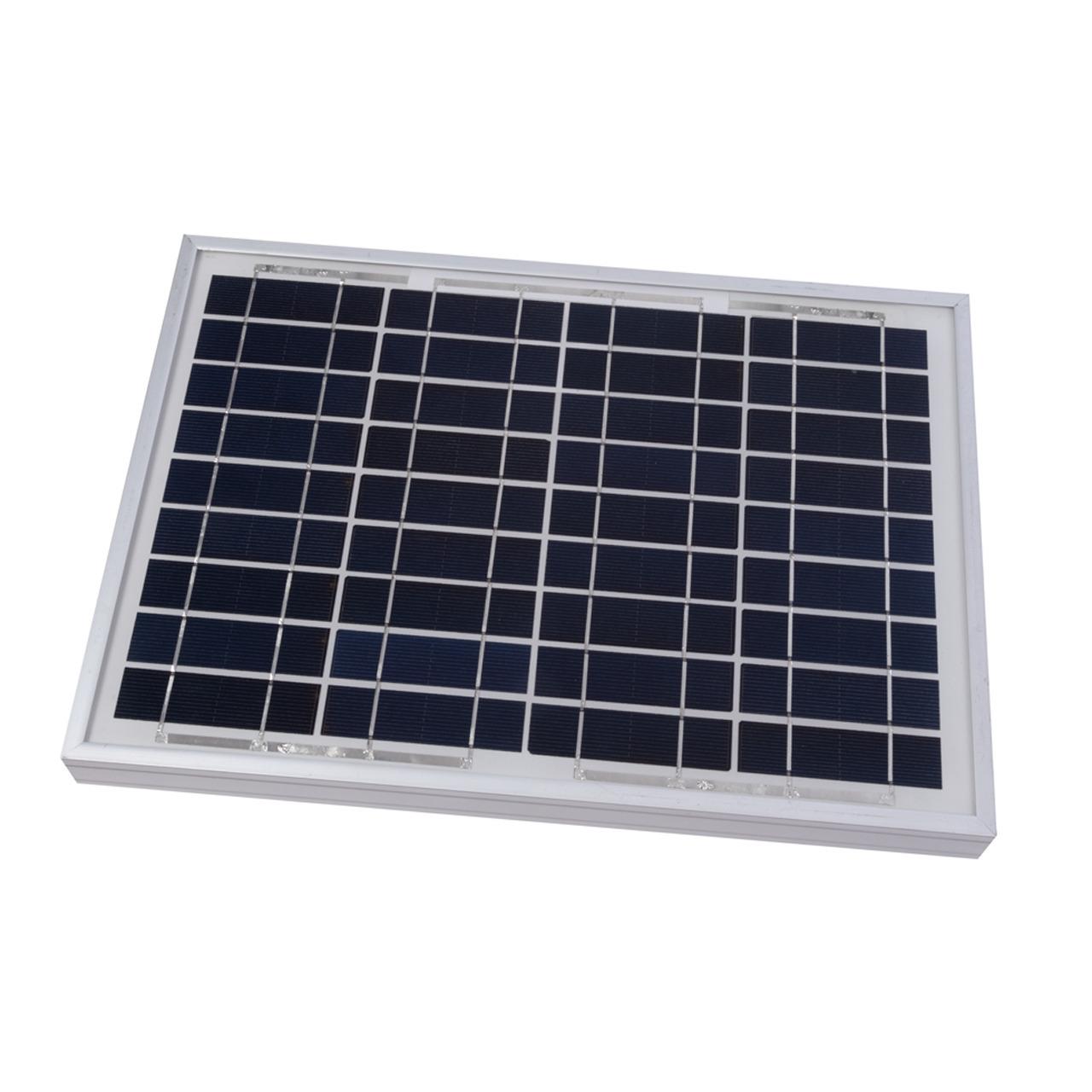 Velleman Polykristallines Solarmodul SOL10P- 12 V- 10 W