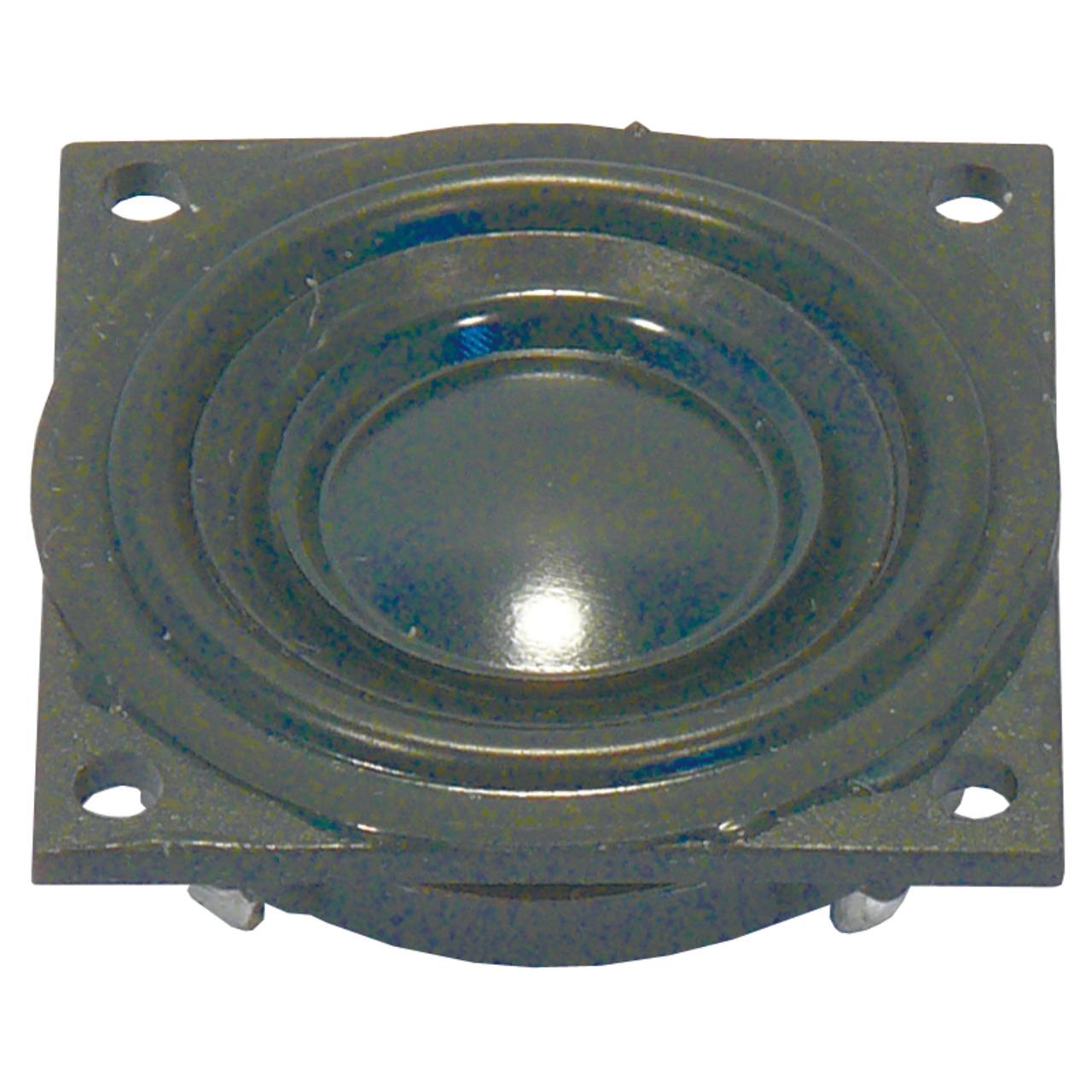 VISATON Kleinlautsprecher mit Kunststoffmembran und quadratischem Kunststoffkorb- K 23 SQ-8 Ohm
