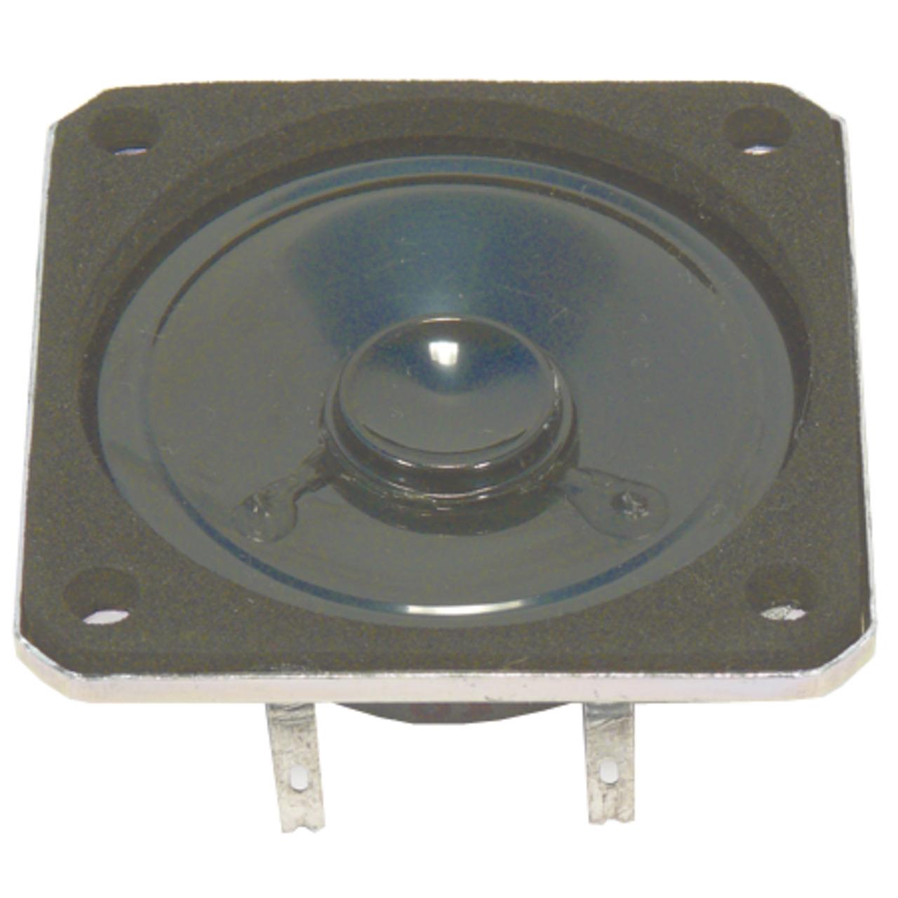 VISATON Kleinlautsprecher mit Kunststoffmembran und quadratischem Metallkorb- K 50 SQ - 8 Ohm