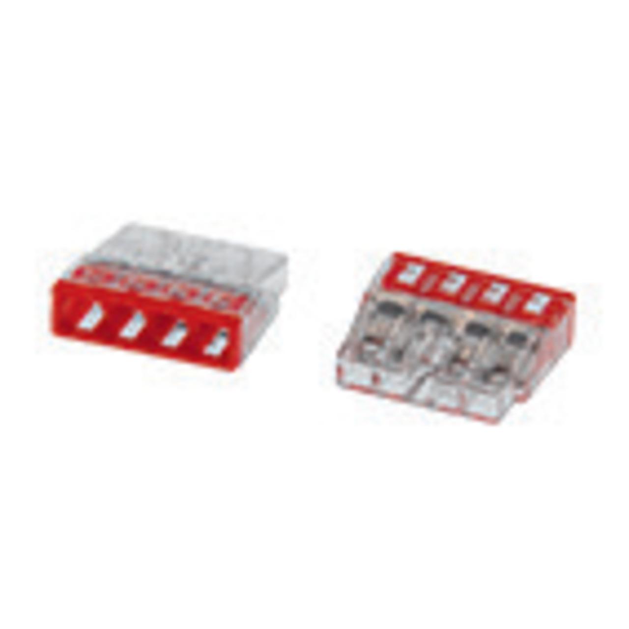 Wago Compact 2273-204 Verbindungsklemme- 4pol- 100 Stück