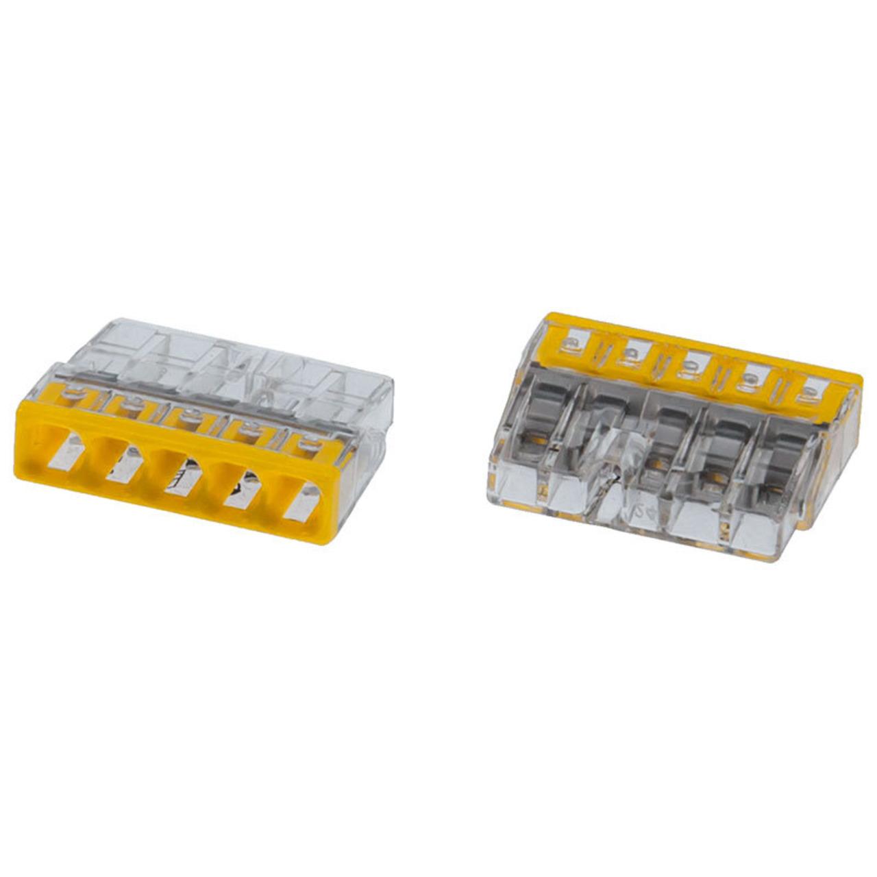 Wago Compact 2273-205 Verbindungsklemme- 5pol- 100 Stück