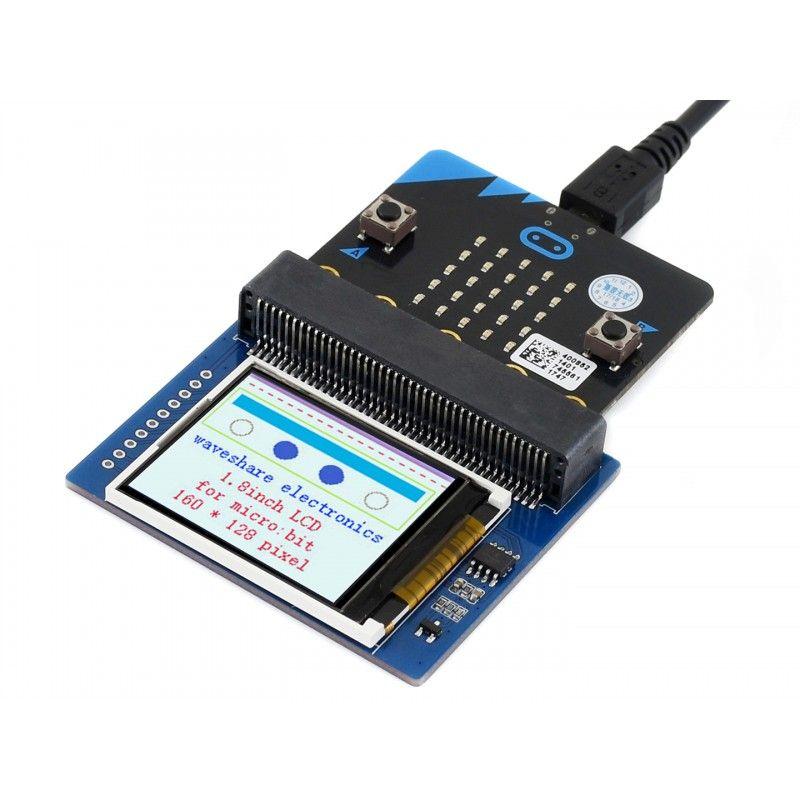 Waveshare 1-8inch LCD Display Modul für micro:bit 160x128