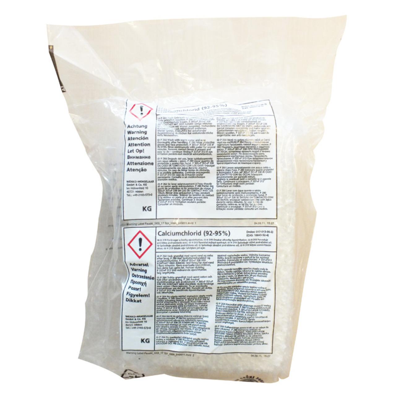 Wenko Trocknungsgranulat für Feuchtigkeitskiller Nachfüllpackung 5 kg- max- 100 m-
