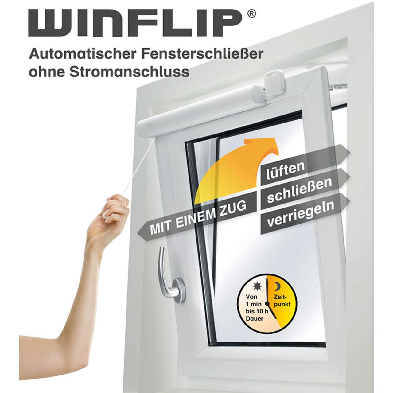 Winflip Digital - Automatischer Fensterschliesser